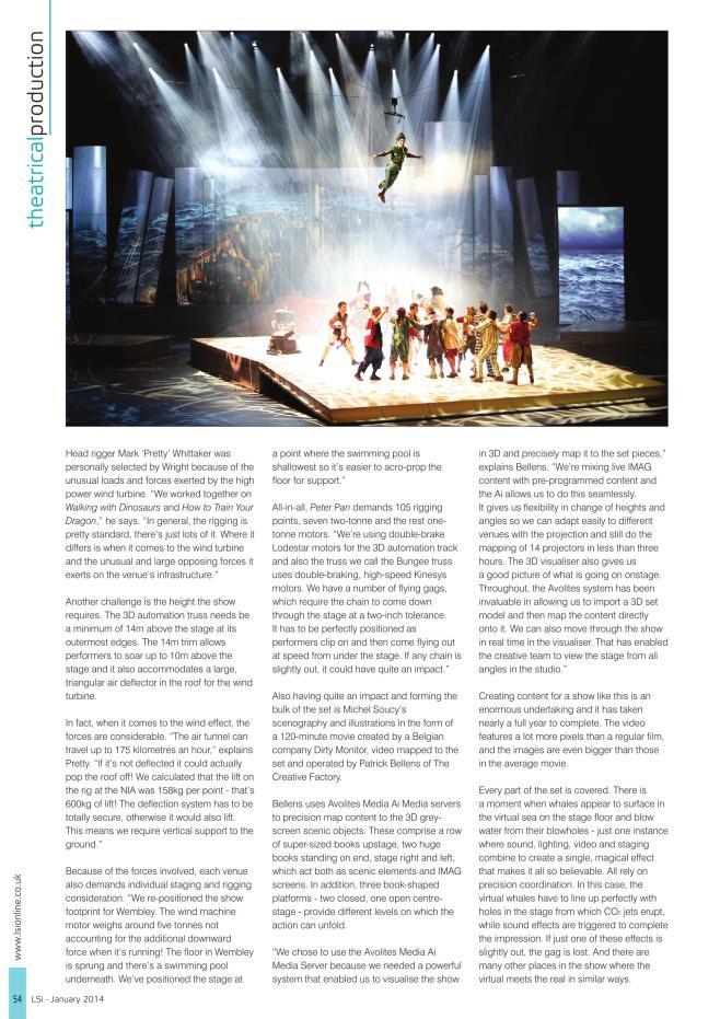 Peter Pan Critique in UK