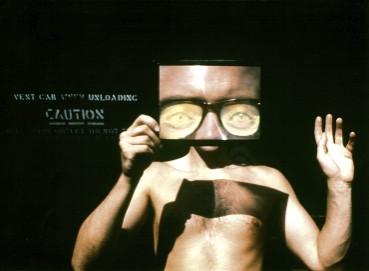 autoportrait à la loupe - 1990