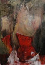 Boudoir 2, Acrylique et huile sur toile, 120 x 80 cm. 2011