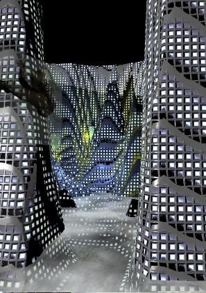 maquette projet Virelle, Metropolis, Belgique