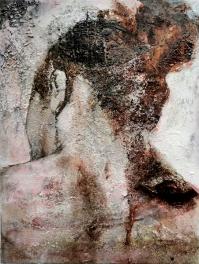 Mixed media on canvas, 40 50 cm. 2012