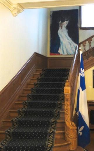 Nightingale a la delegation du Quebec