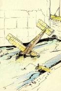 scenography on World War 1 sketch sceno - 2014