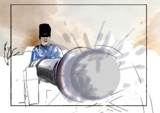 Storyboard for waterloo_attack
