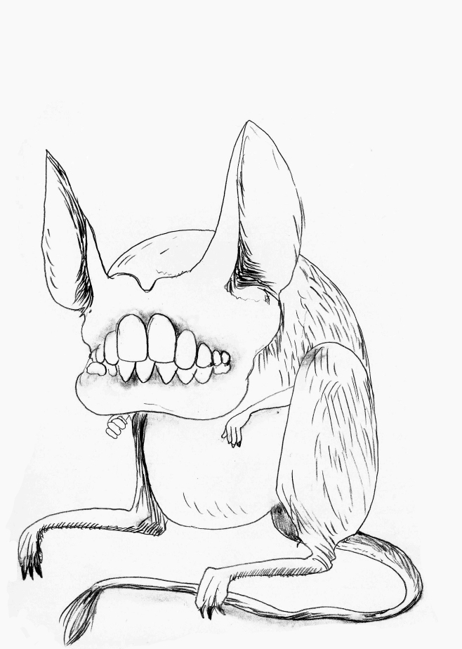 My halloween disguise... A jerboa - 2014