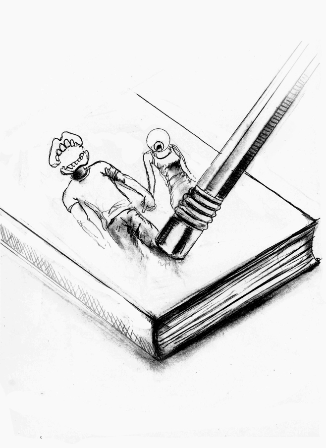 The end of sketchbook 3 - 2014