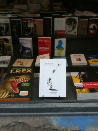 """My book """"One sketch a day keeps the doctor away"""" on store in Brussel"""