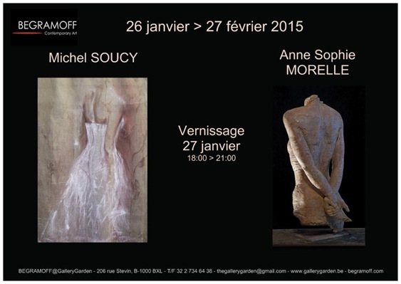 invitation exposition Michel Soucy