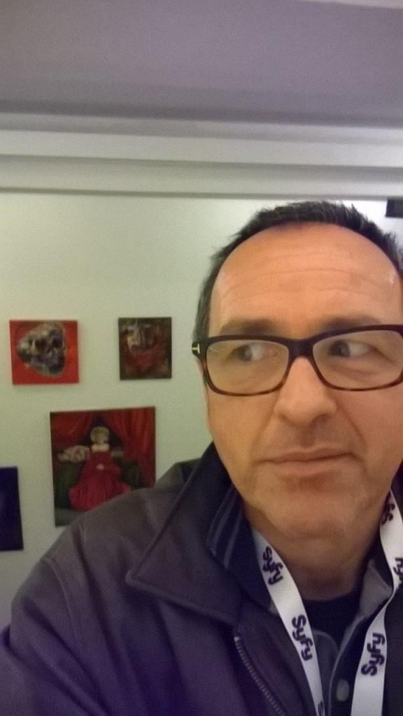 Michel Soucy jr. expose au palais royal des beaux-arts de Bruxelles 2015