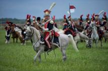 Waterloo Army_reconstitution_with horses