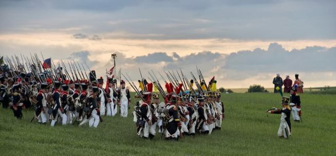 Waterloo Army_reconstitution