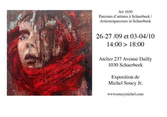 carton invitation MSoucy parcours artiste 2015 2