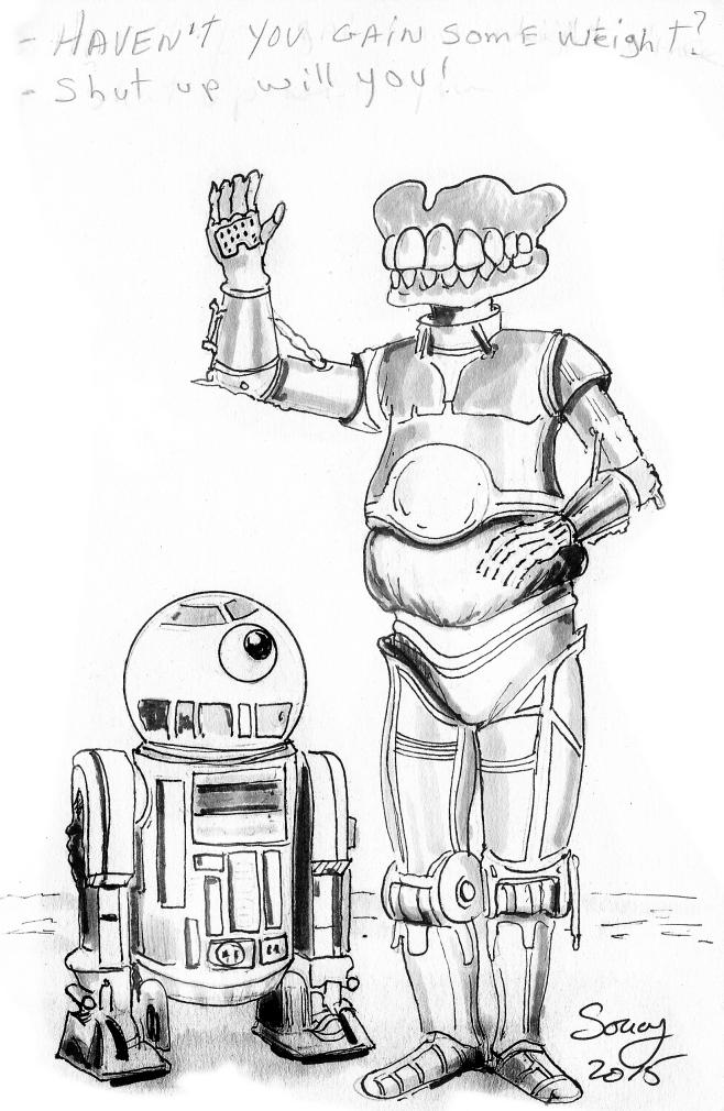 R2-D2 and C-3PO quote ...C 3po Quotes