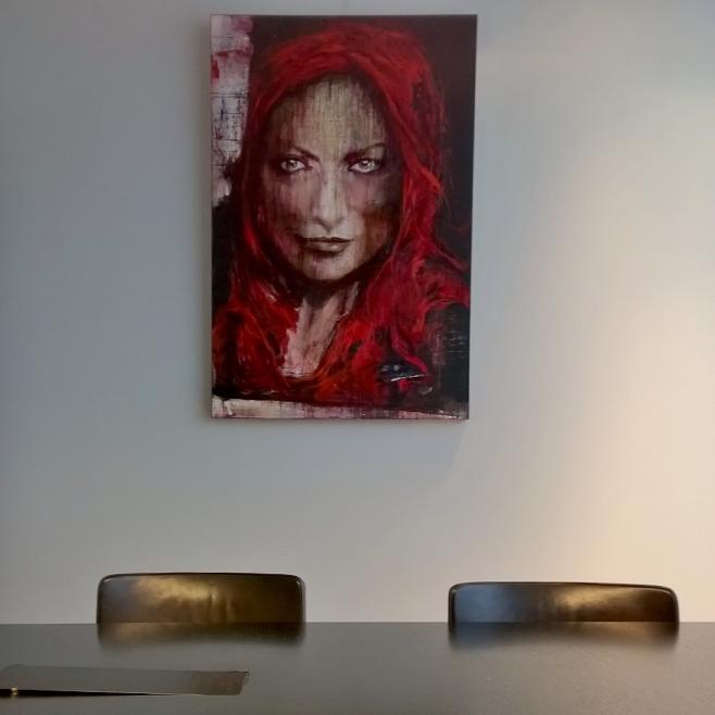 No 13 exhibition at the bank