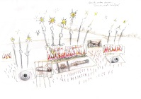 First sketch of Waterloo Battle Inferno
