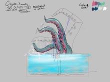 Props_Octopus design - Qing Show 2019