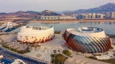 Qingdao theatre architecture